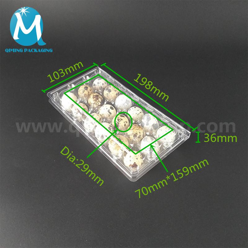 18 quail egg tray