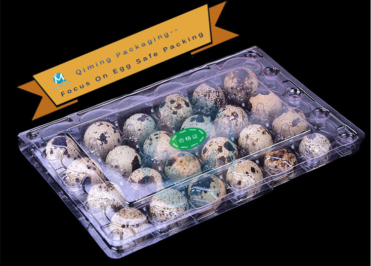 Qiming plastic quail egg tray