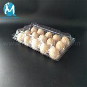 PVC clear plastic egg trays