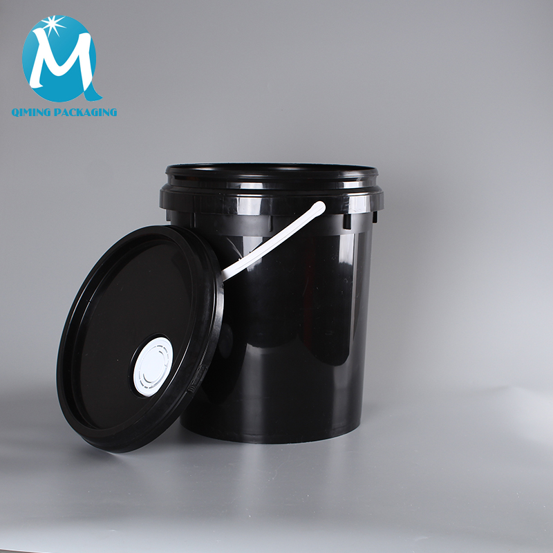 Plastic packaging round bucket