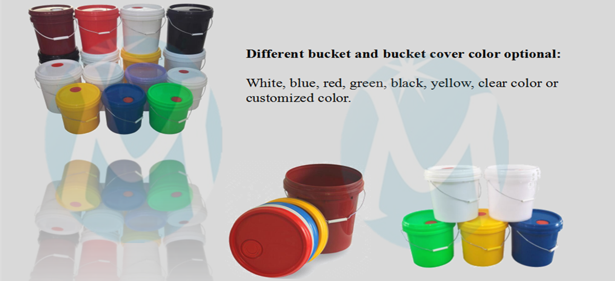 plastic round bucket2