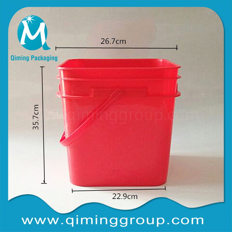 20L plastic square bucket
