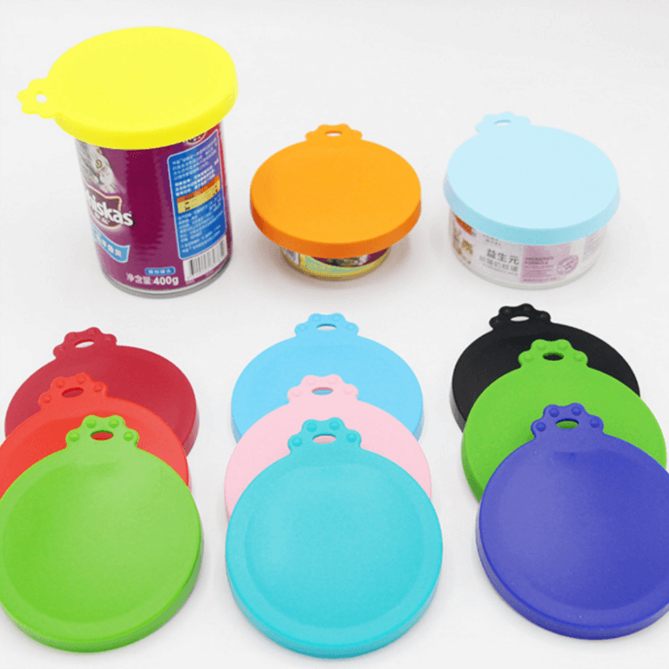 pet food can covers lids for dog or cat food containers