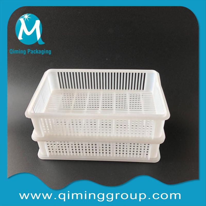 plastic shallow storage tray