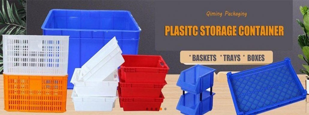 plastic tray box bin