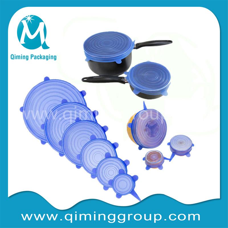 stretch silicone lid