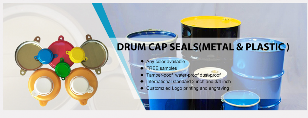 Drum metal cap seal
