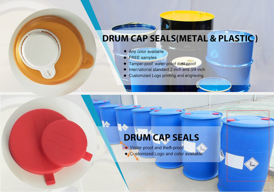 Plastic drum cap seals