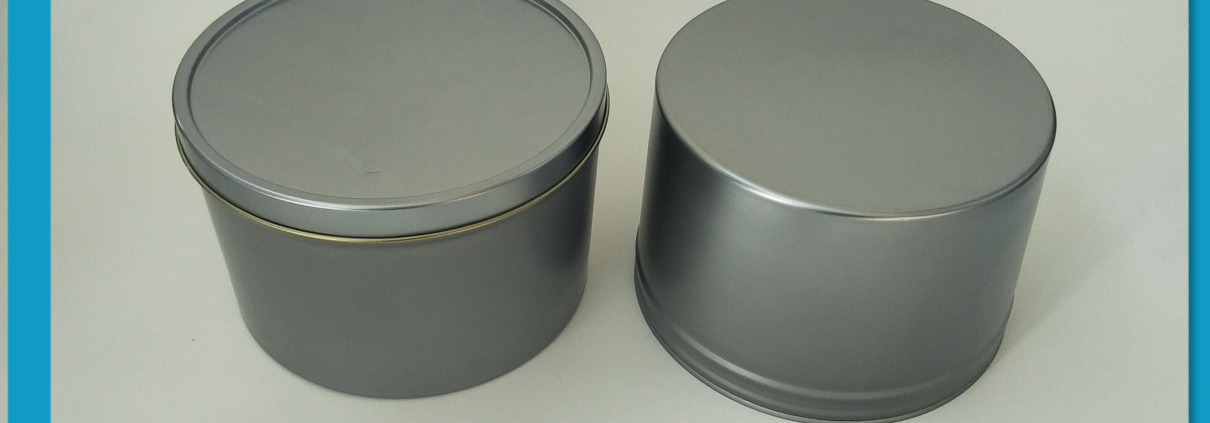 vacuum ink tin can