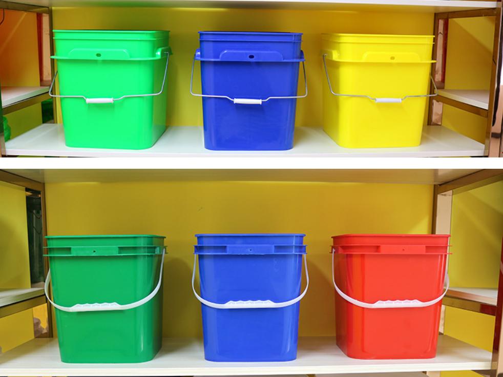 square plastic buckets for sale