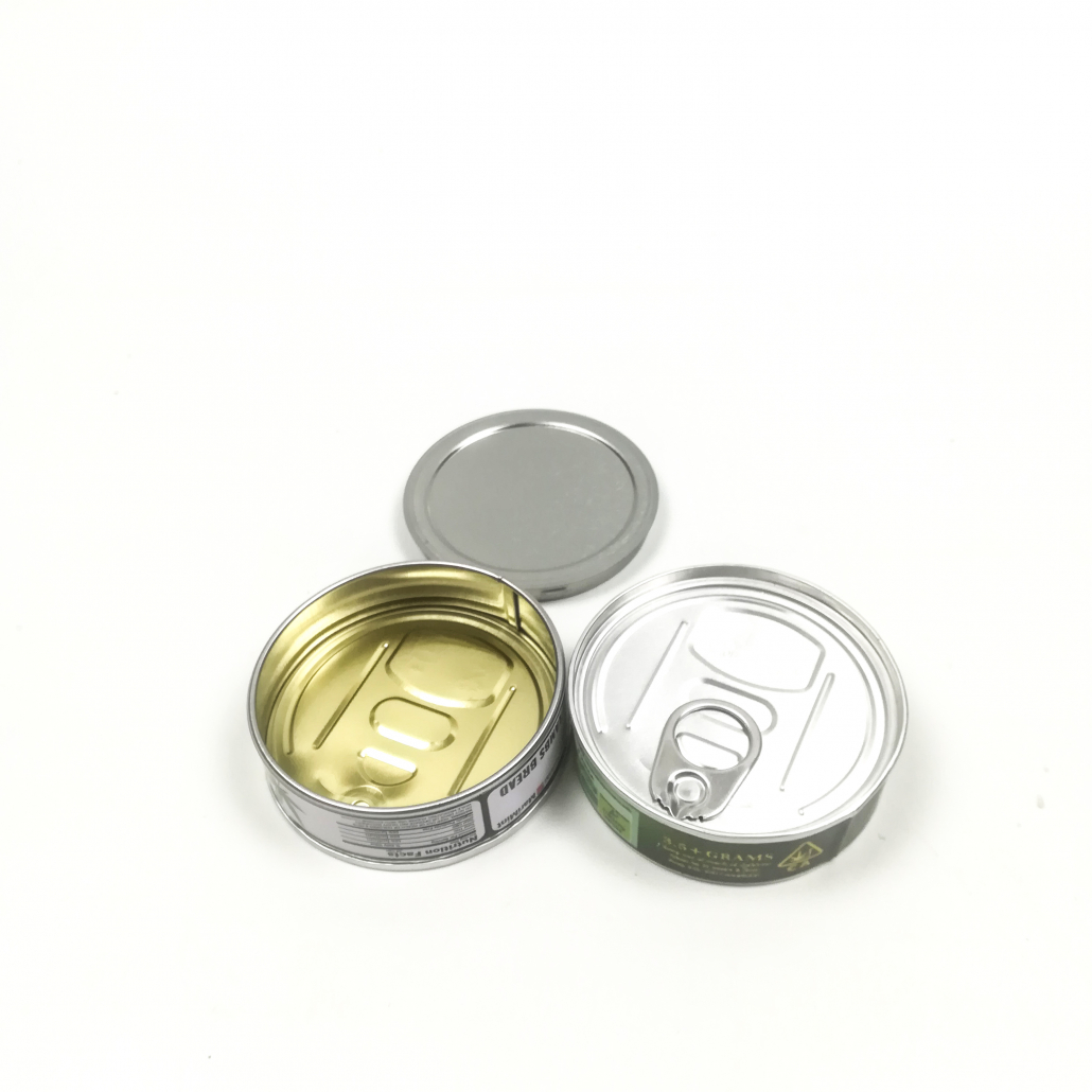 pressitin tin cans for dried flower