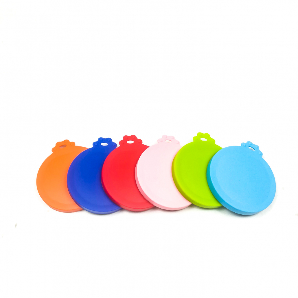 silicone pet food can lids