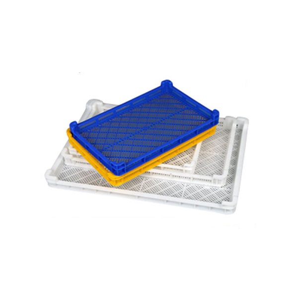 100% Food Grade Stackable Plastic Drying Trays Freezing Tray For Softgel Paintball Plants Fruit Seafood