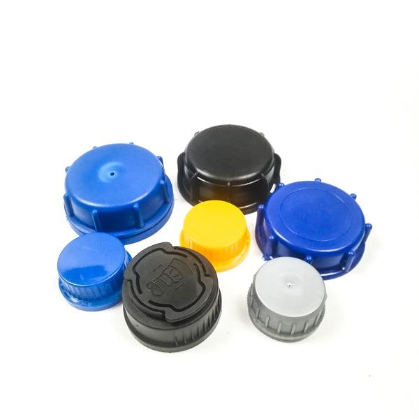 Plastic Screw Lids Covers Stretch cover for Lubricant Oil drum barrel bottle jerry can 1L 4L 5L 20L