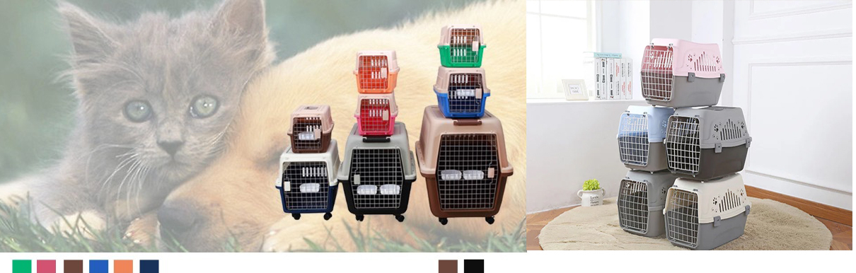 Wholesale Portable Plastic Pet Carrier, Pet Carrier