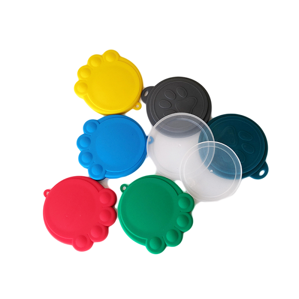 silicone pet fod cam lids covers HDPE food grade can top lids