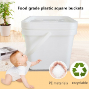 plastic square buckets pails for sale