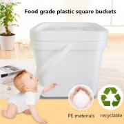 plastic square buckets pails for sale