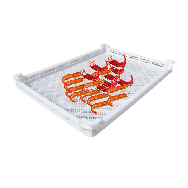 White Plastic Perforated Stackable Drying Trays for all Pasta Machines