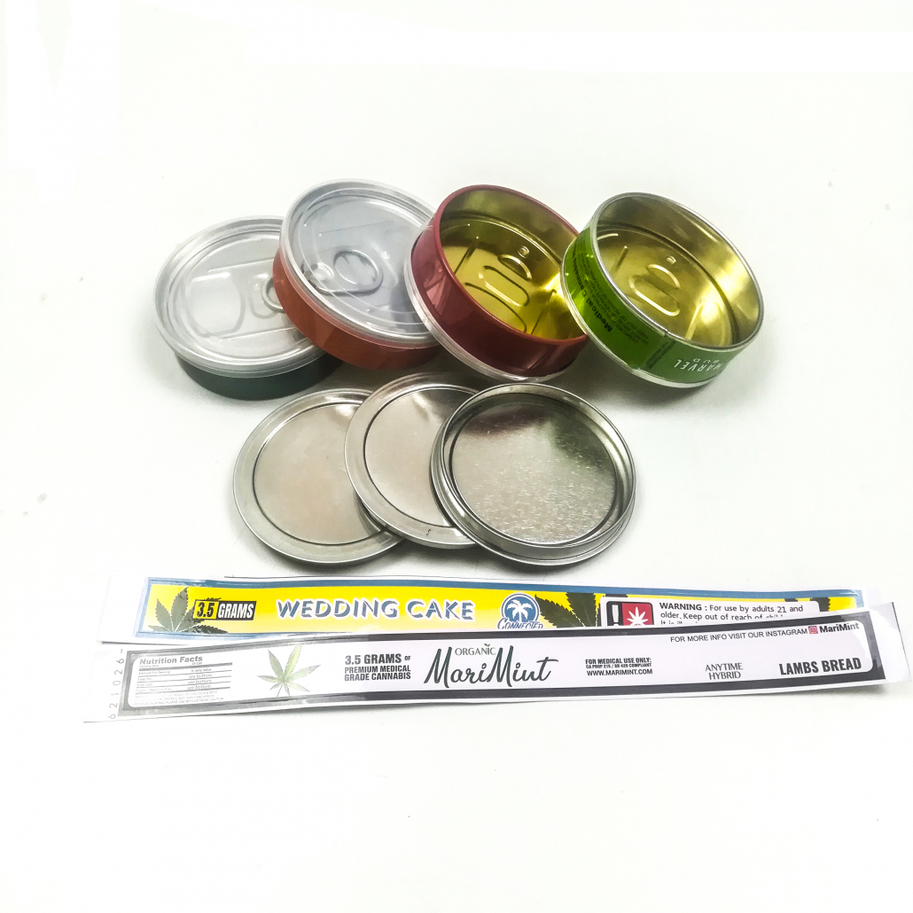 customized labels and stickers pressitin cans for sale