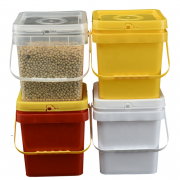 square plastic buckets with handles