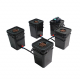 water culture square bucket for soilless cultivation hydroponic system