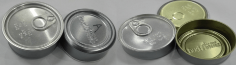 pressitin tuna tin cans