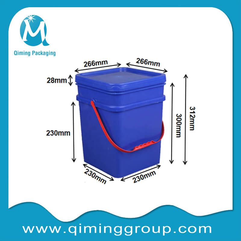 15L square bucket