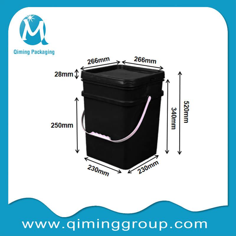 18L square bucket