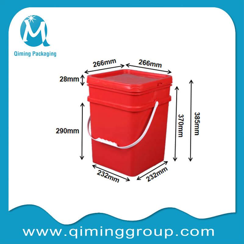 20L square bucket