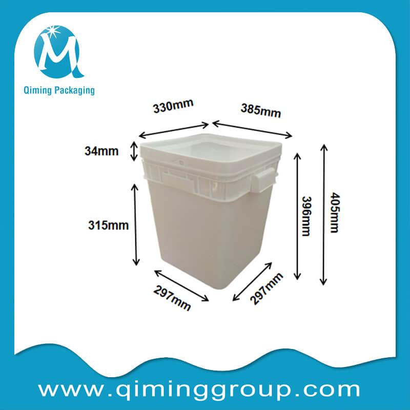 30L square bucket