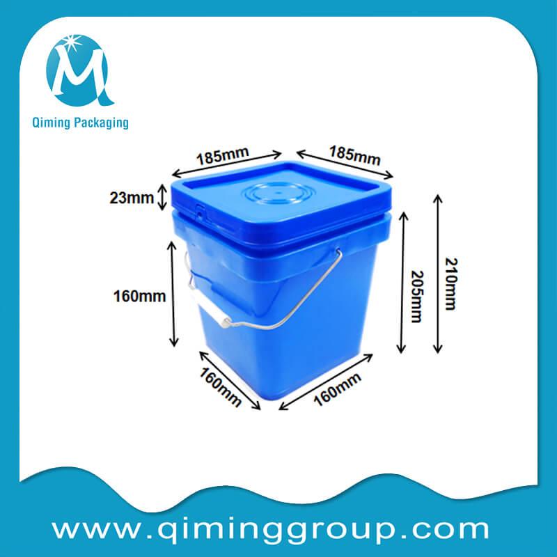 5L square bucket
