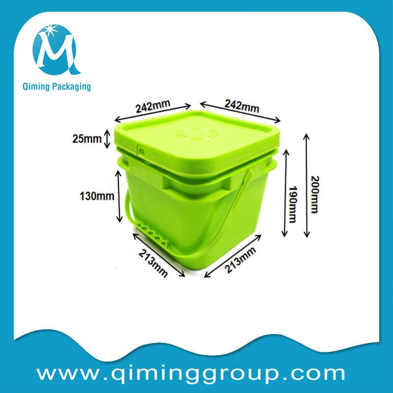 8L square bucket