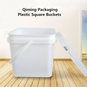 square plastic buckets pails for sale