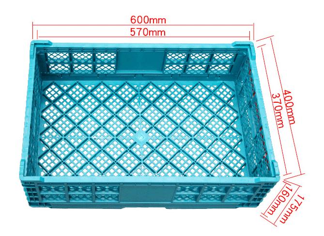 plastic folding basket