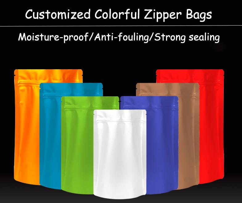 plastic zip lock pouch bags