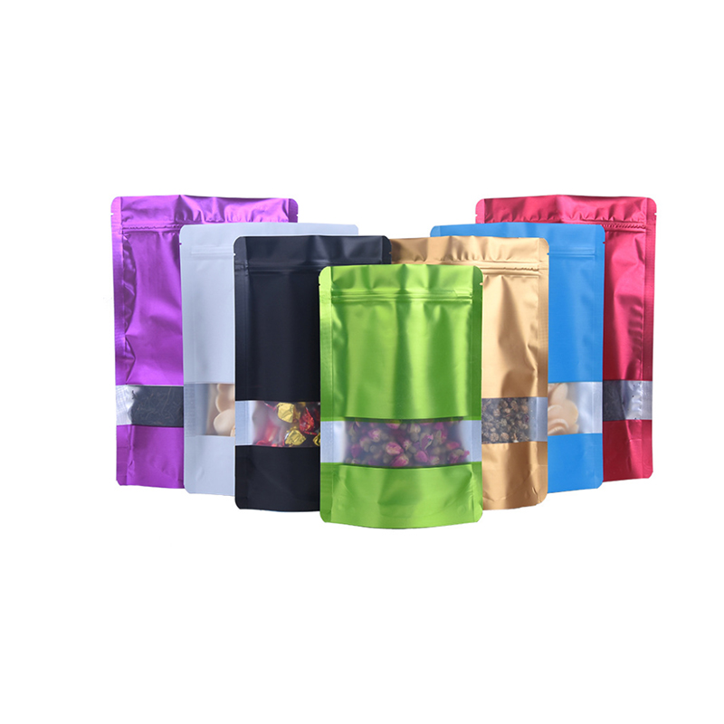 Plastic Bags Recycling Resealable Ziplock Food Storage Bags