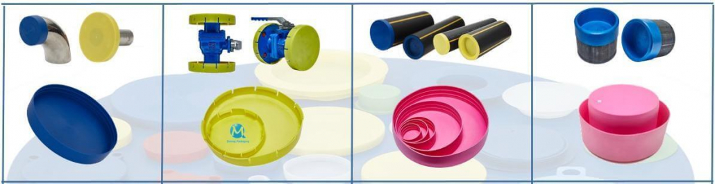 pipe end cap plastic