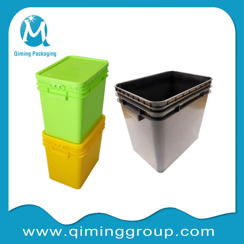 rectangular bucket plastic