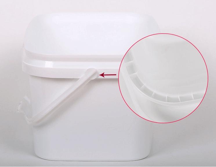 rectangular plastic pails