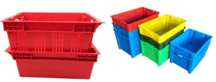 plastic turnover crate