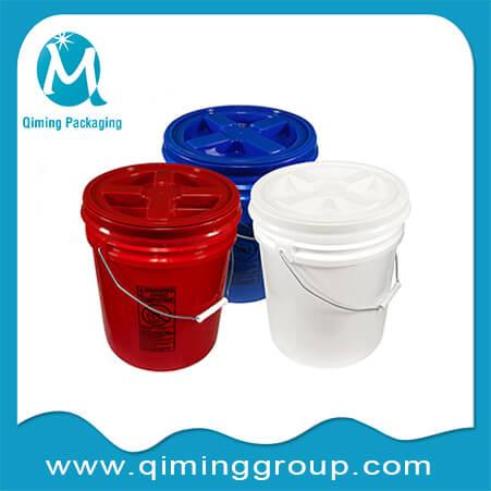 round bucket with gamma lid