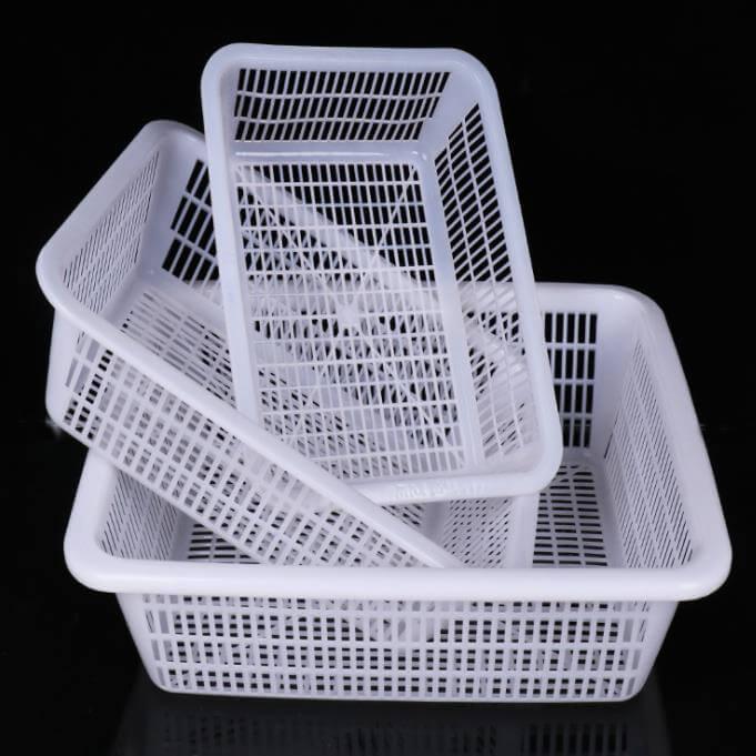 MULTIPURPOSE PLASTIC SHALLOW STORAGE TRAYS