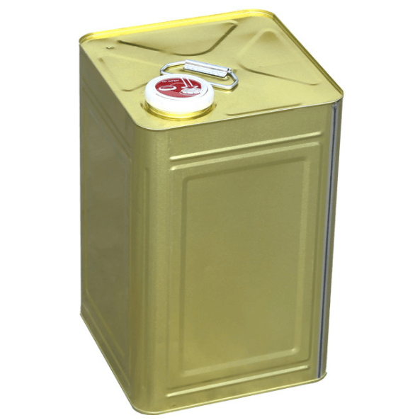 square Tinplate Cans For Adhesive Mushy Liquid Qiming Packaging