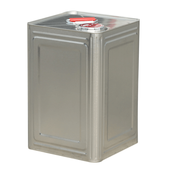 Square Tinplate Cans For Gasonline Engine Oil Qiming Packaging