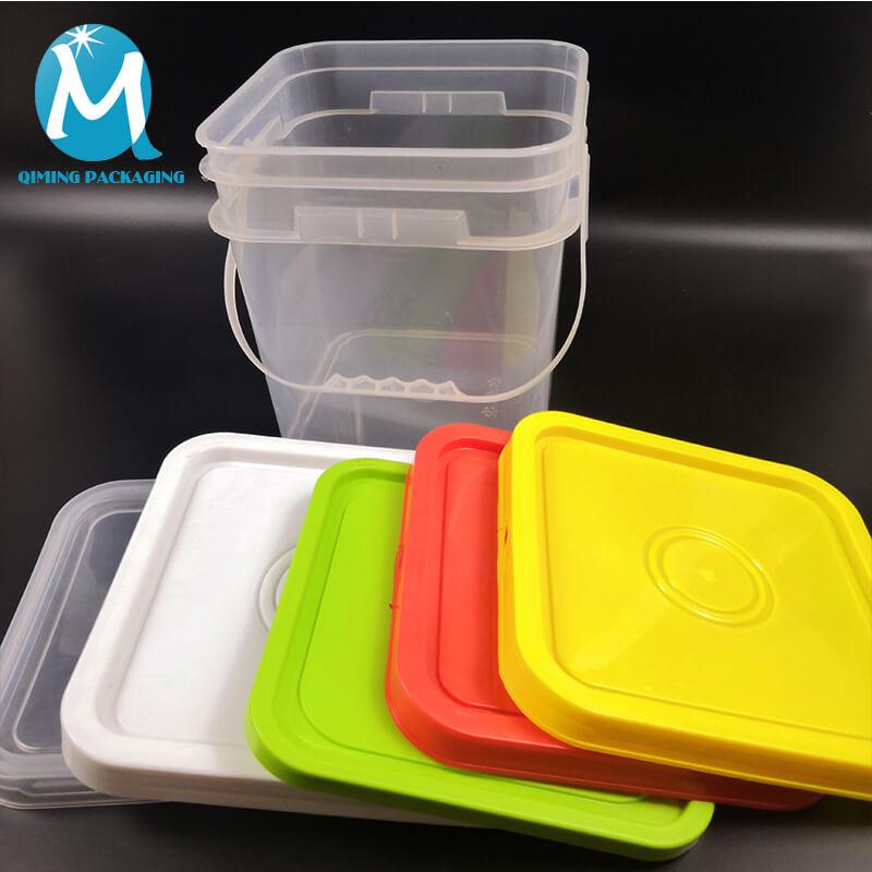 plastic square buckets