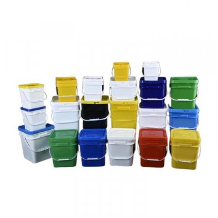 Square Plastic Buckets Pails