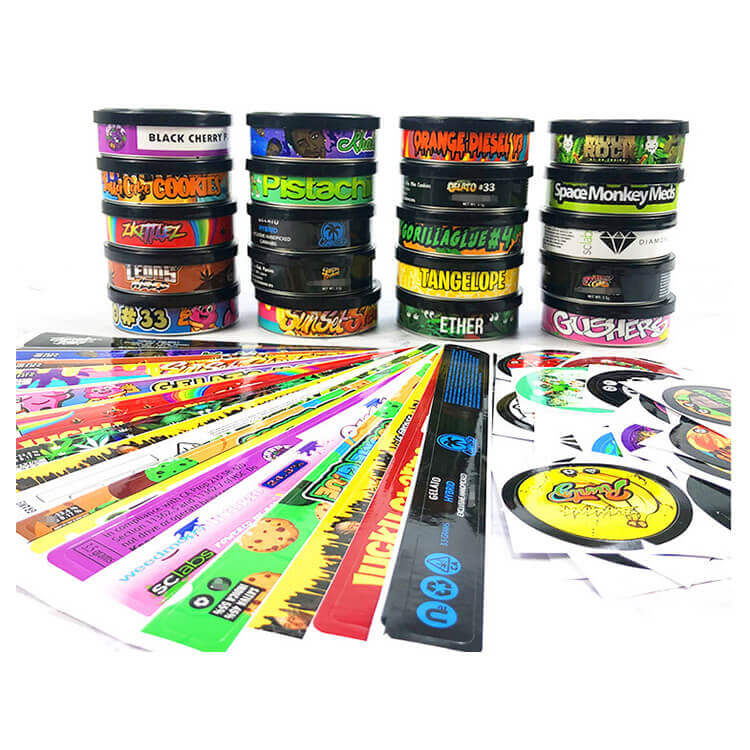 qiming packaging pressit in tin cans