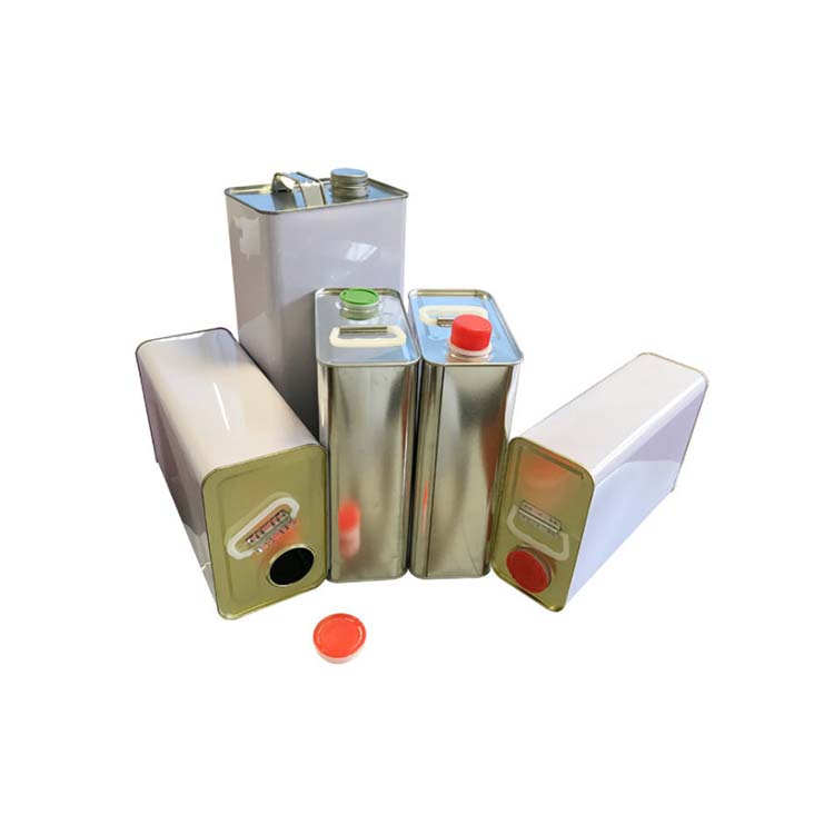 rectangle tin cans for chemical industry