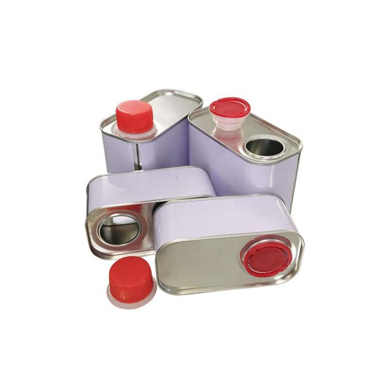 rectangle tin cans for brake fluid